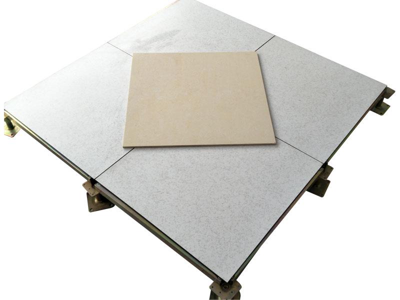 Steel Raised Floor With Ceramic Finish