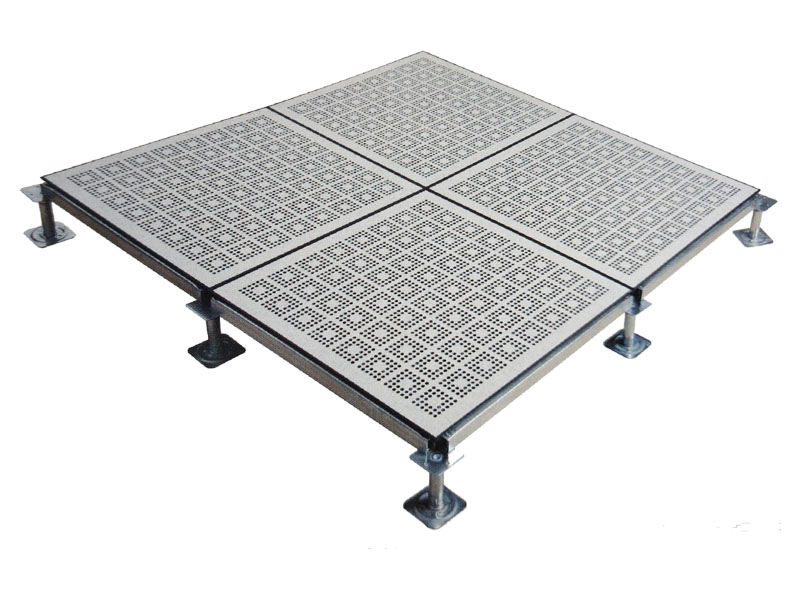 Perforated Raised Floor